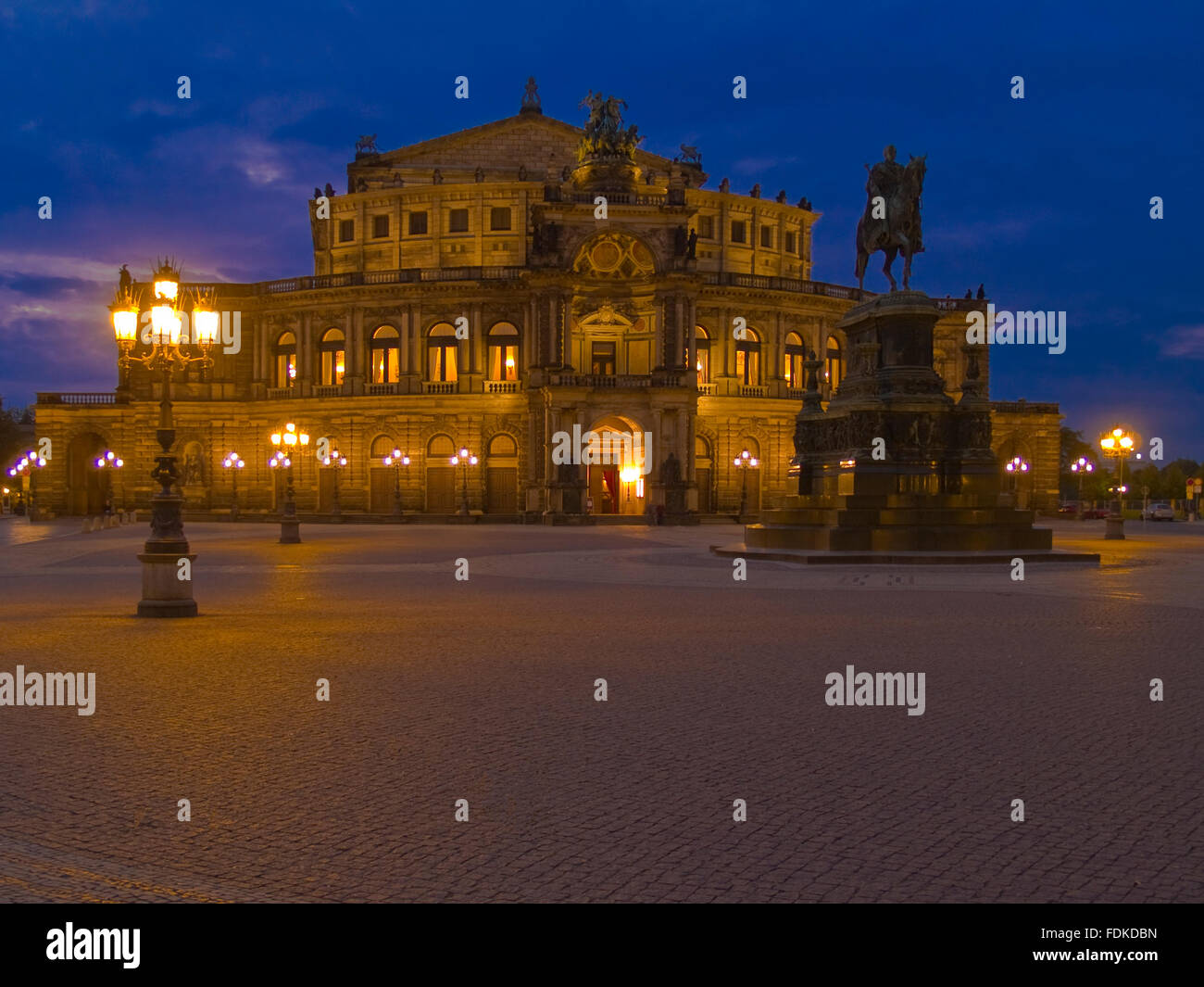 opera,dresden,semperoper,opera house - Stock Image