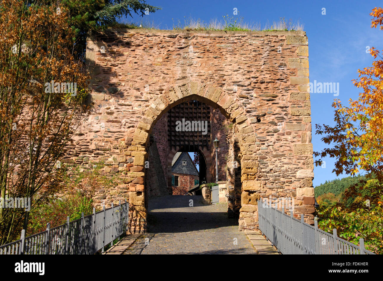 fort,heimbach - Stock Image