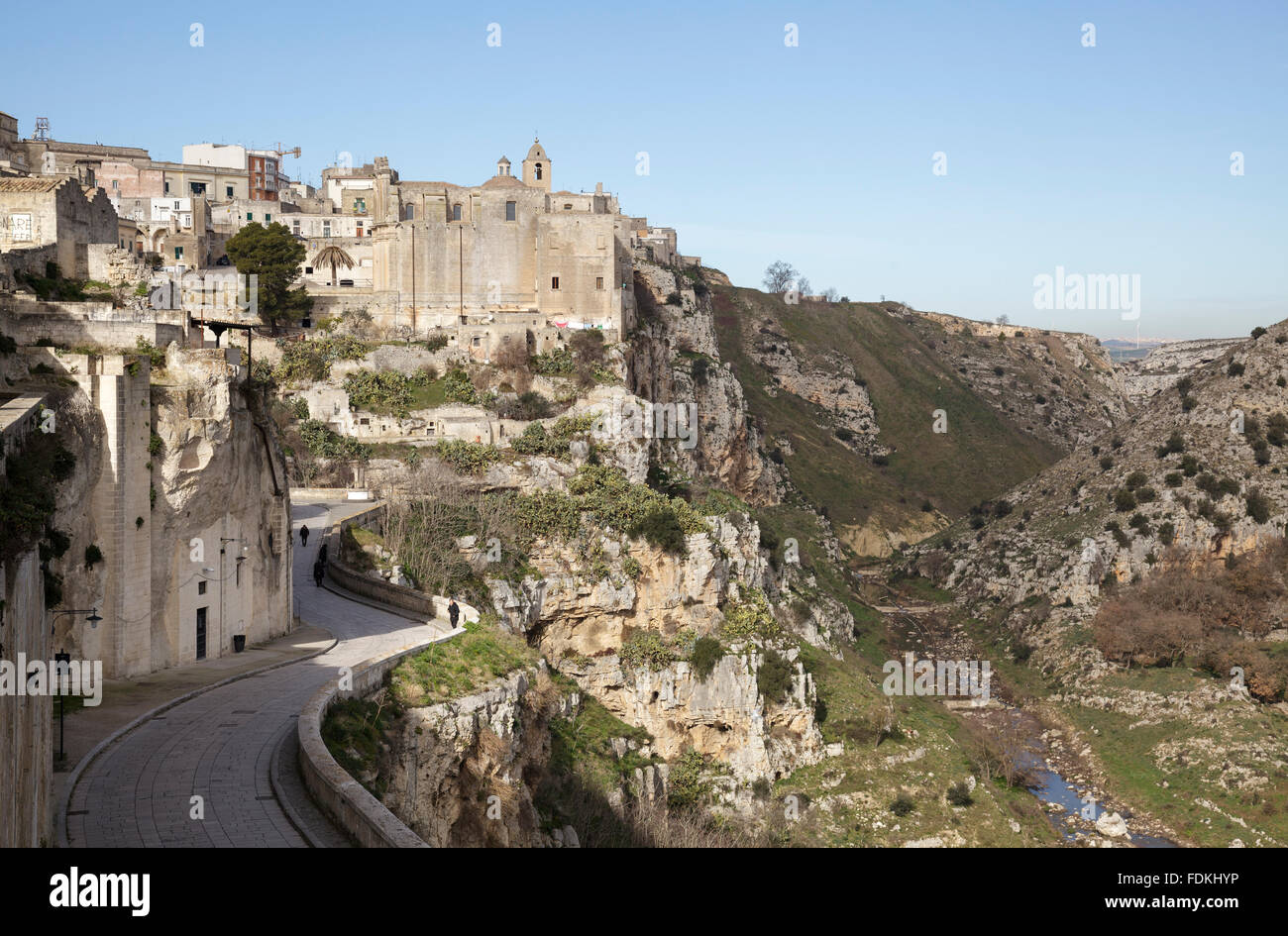 torrente-gravina-with-town-along-via-madonna-delle-virtu-with-convent-FDKHYP.jpg