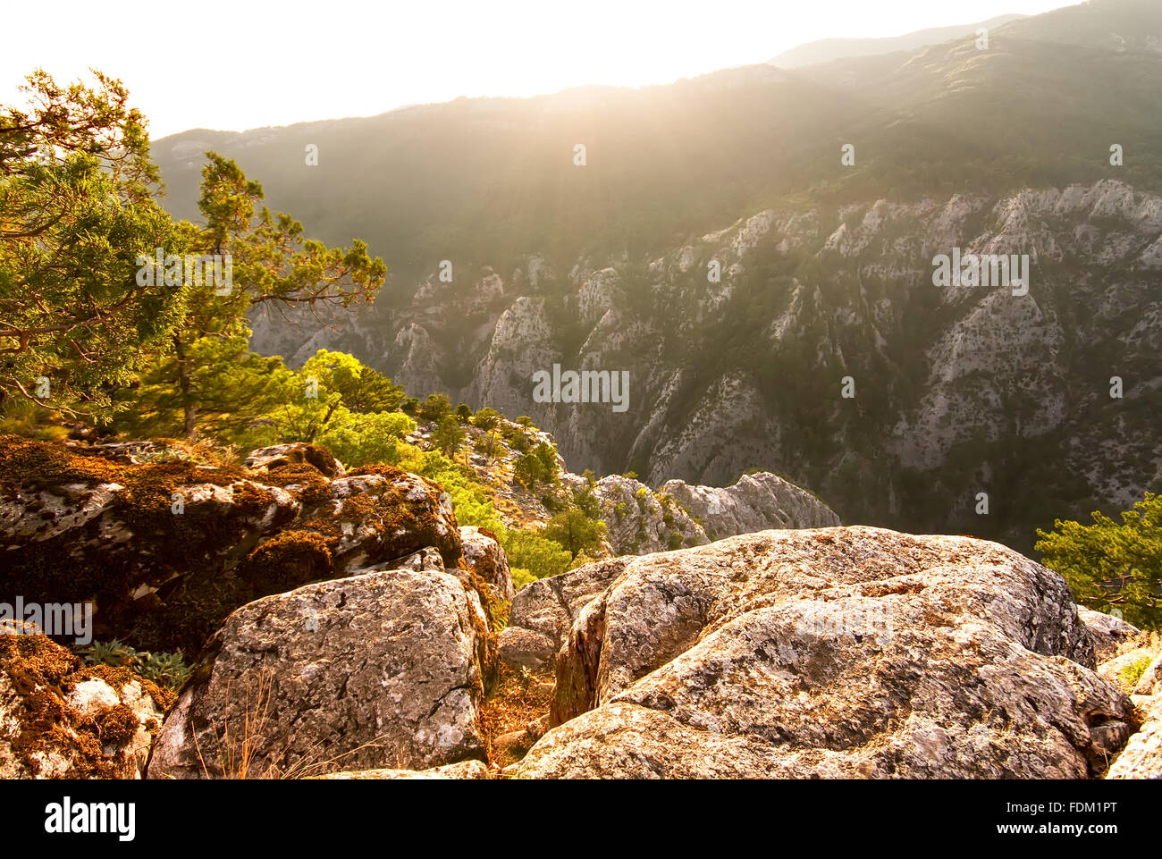 Ida Mountain, Altinoluk, Balikesir, Turkey - Stock Image