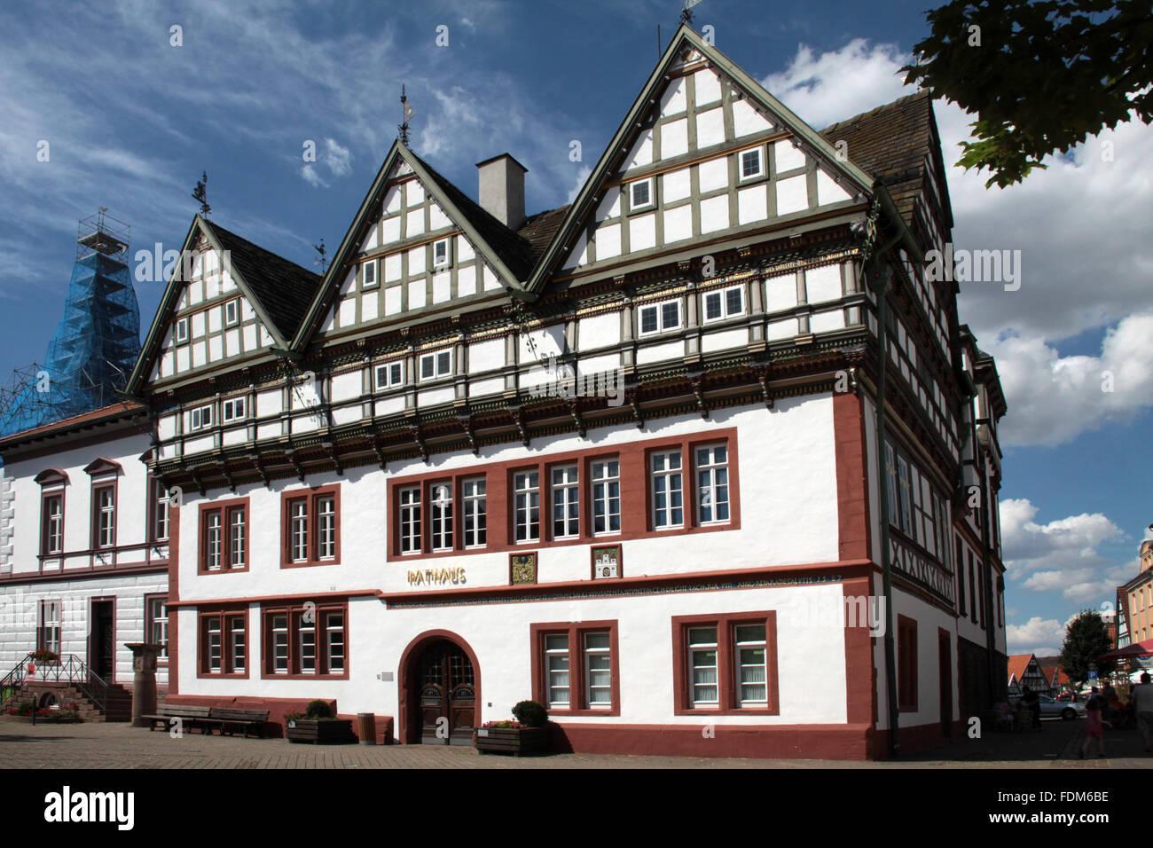 town hall,blomberg - Stock Image