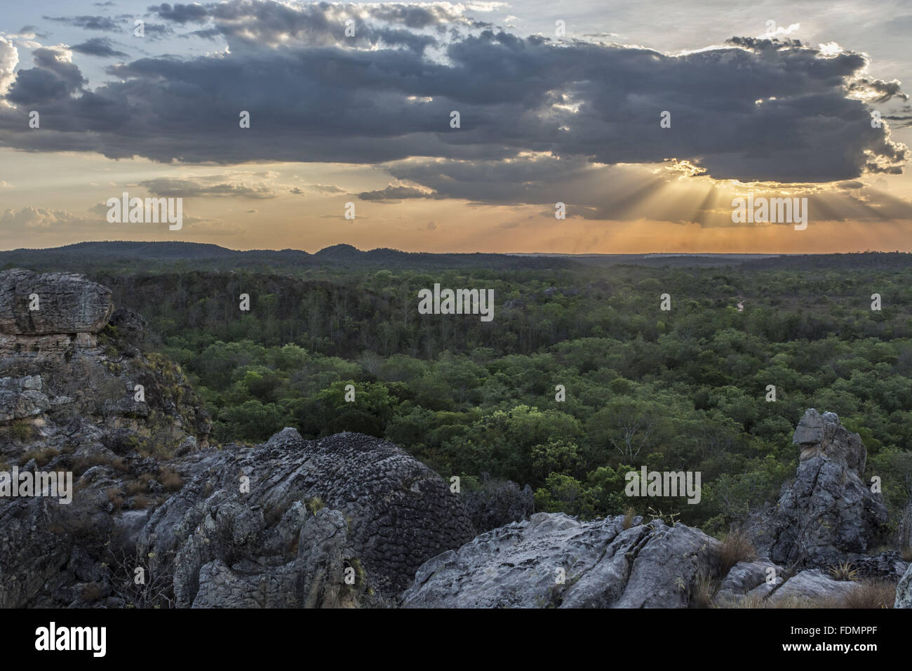 Seven Cities National Park - Second City - Stock Image