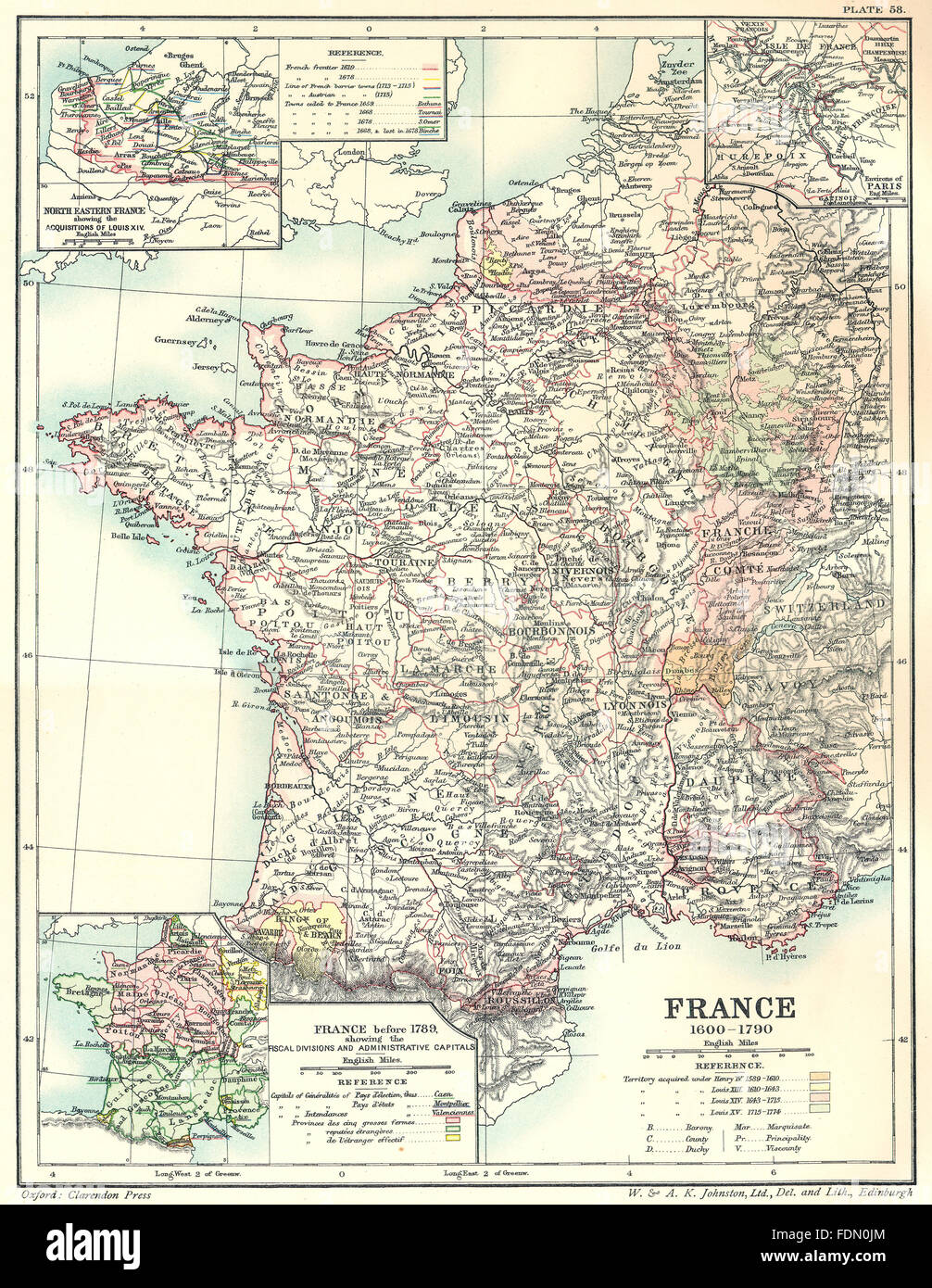 Map Of France 1600.France 1600 1790 Maps N Eastern Acquisitions Louis 14 Paris