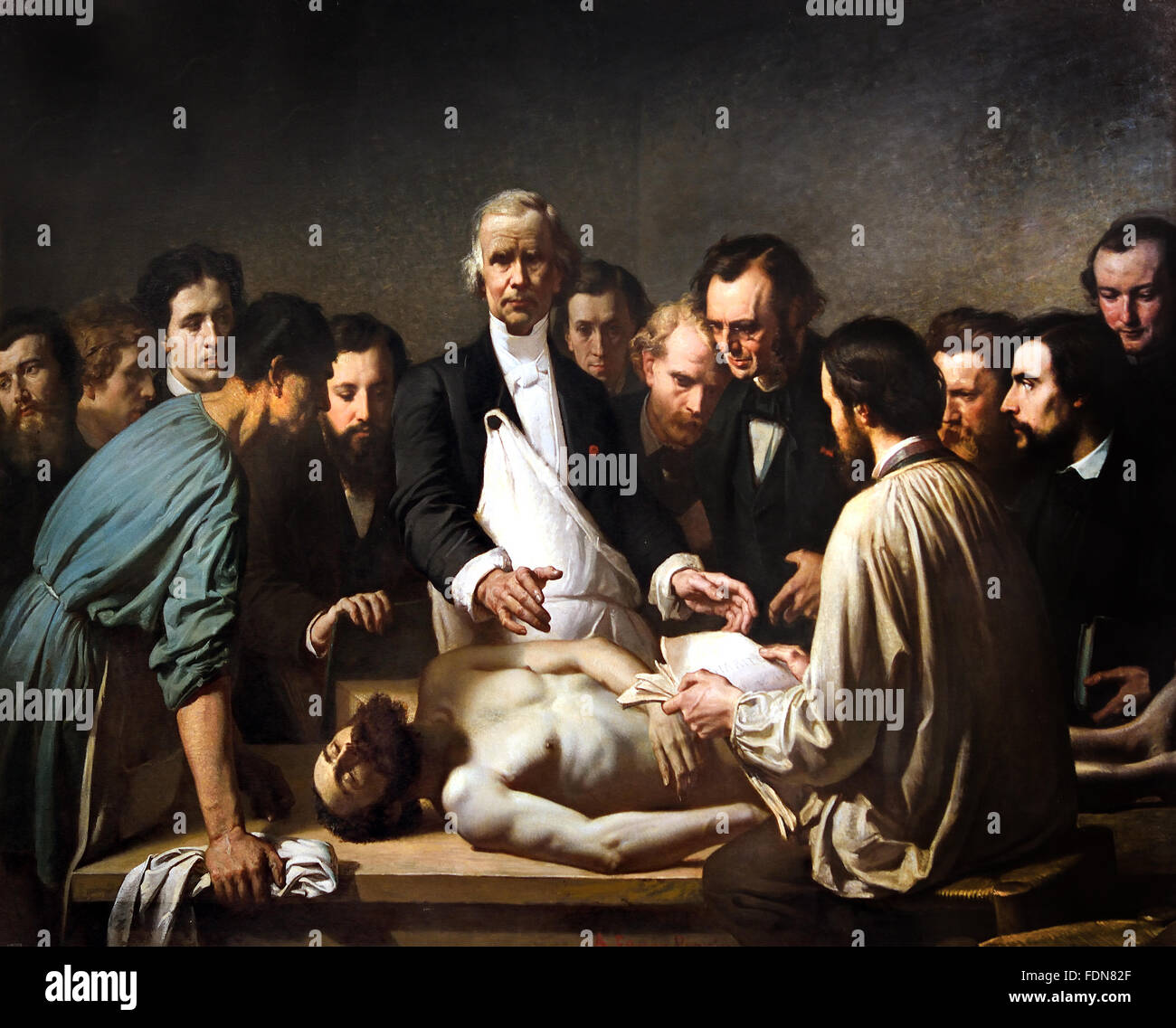 Anatomy Lesson Of Nicolaes Stock Photos Anatomy Lesson Of Nicolaes