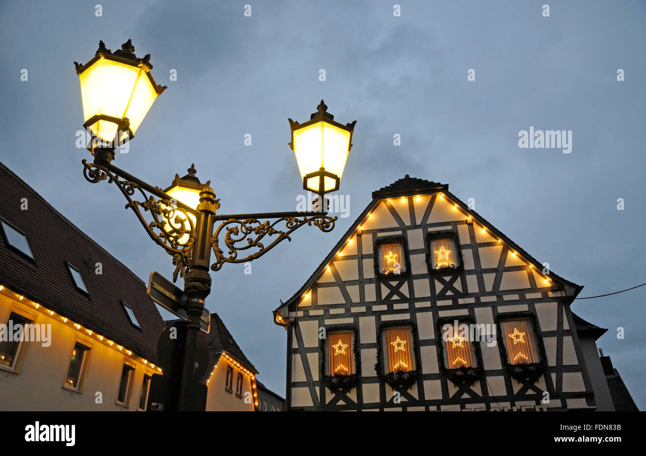 search results for seligenstadt street candelabra christmas lamp lights stock photos and images