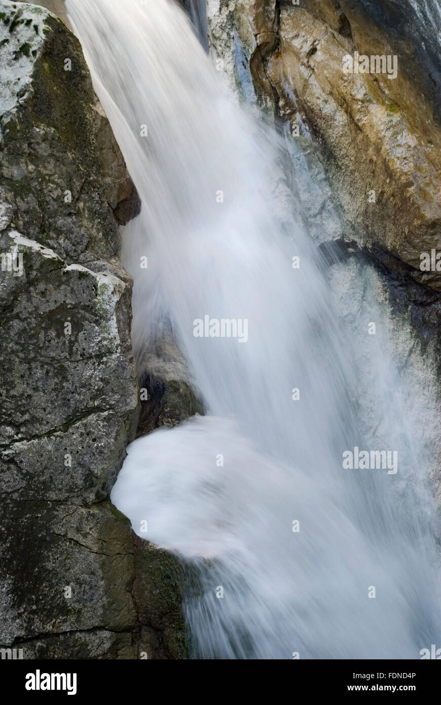 waterfall,flowing - Stock Image