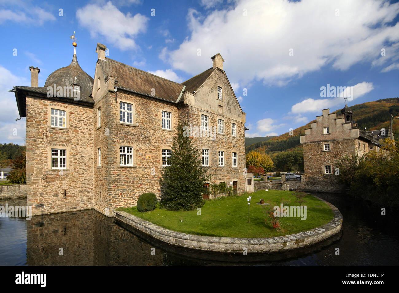 castle lenhausen - Stock Image