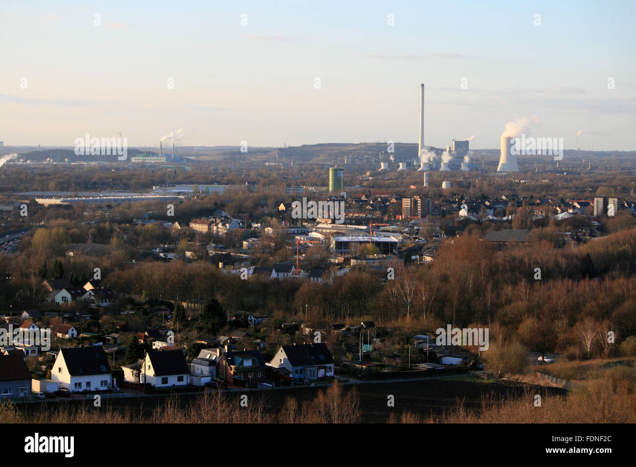 ruhrgebiet,agglomeration - Stock Image