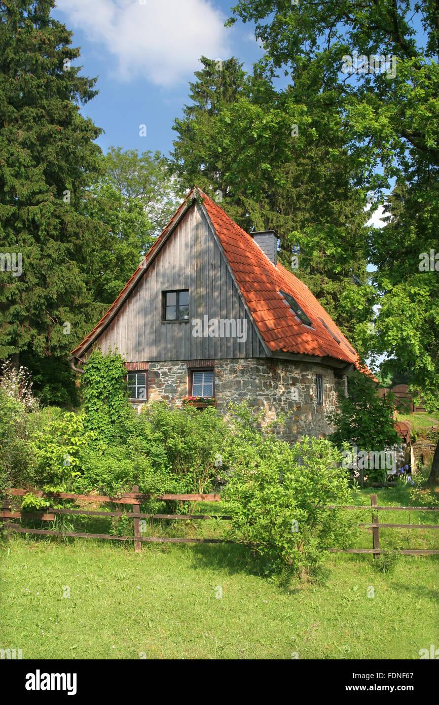 mill,löhrmühle - Stock Image