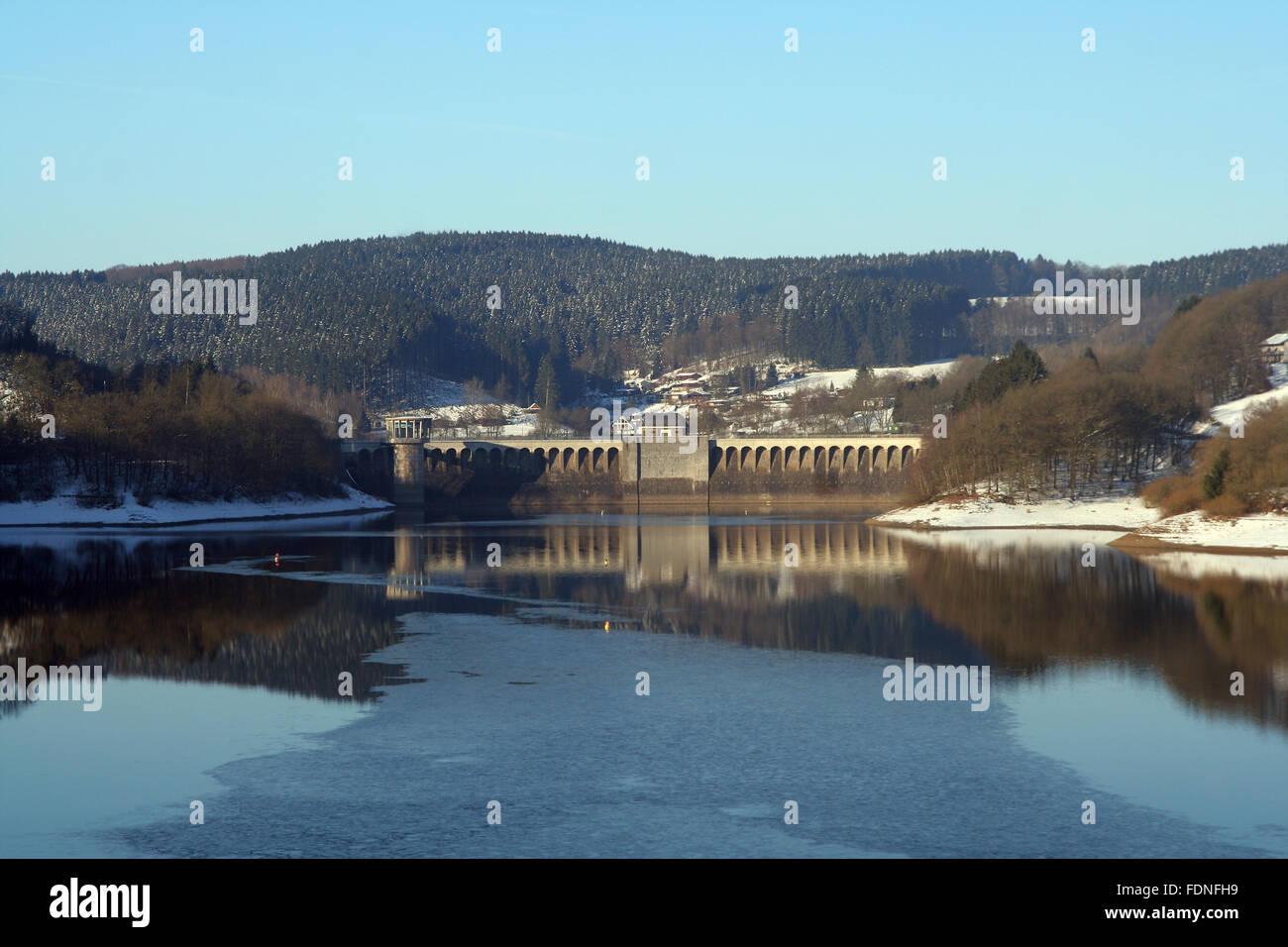 reservoir - Stock Image