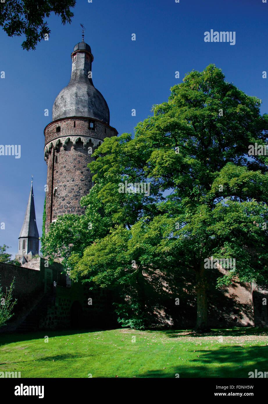 steeple,juddeturm,zons - Stock Image