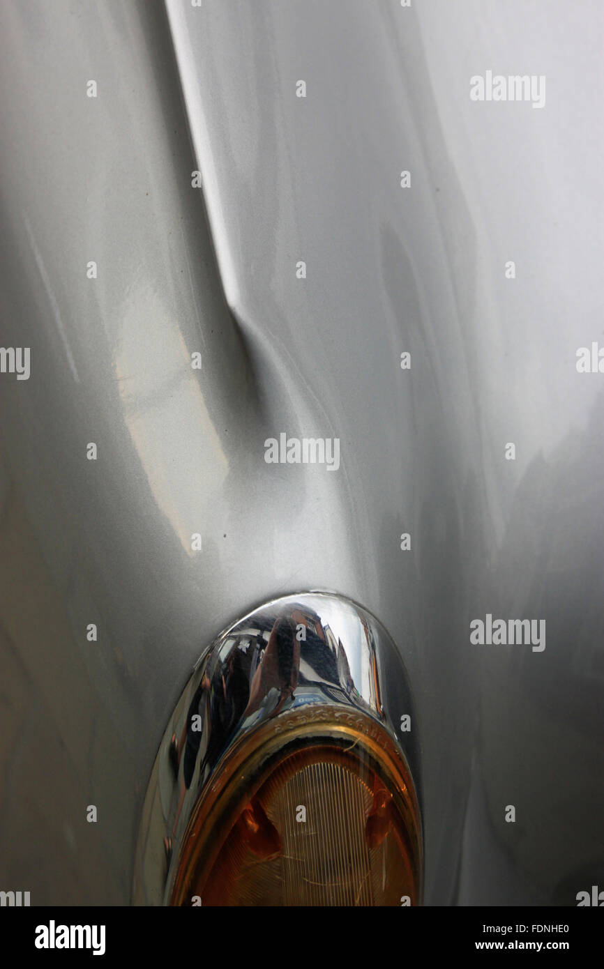 Car With Fins Stock Photos Images Alamy 1960 Plymouth Fury Station Wagon Close Up Of Alvis Special Early 1960s Classic Silver Grey Light Bezel