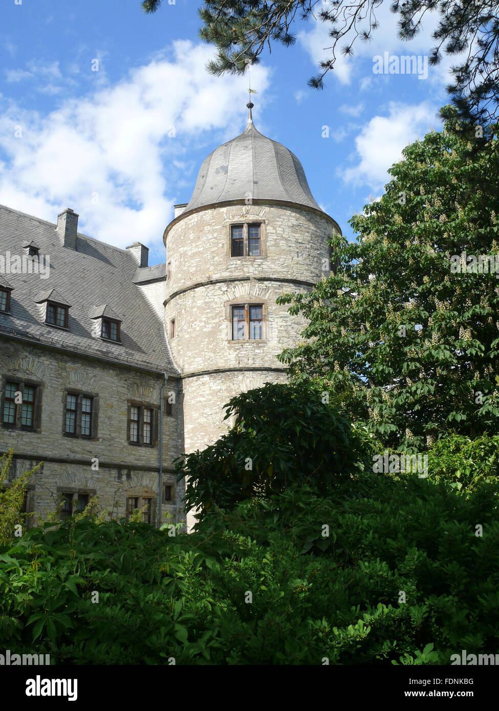 büren,wewelsburg - Stock Image