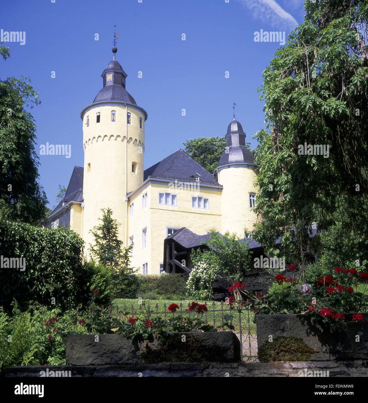 castle homburg,nümbrecht - Stock Image