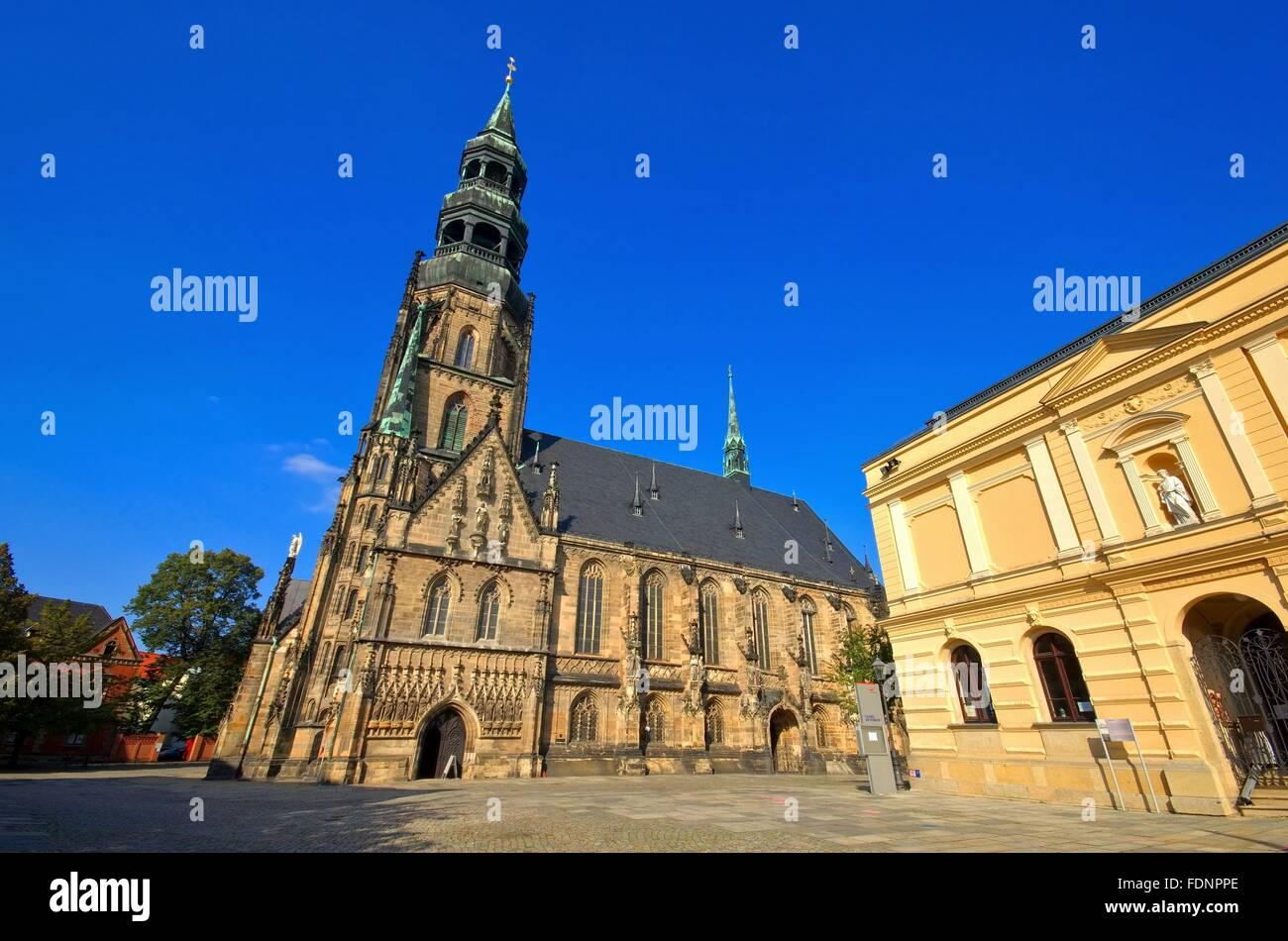 dom,zwickau,st mary's church - Stock Image