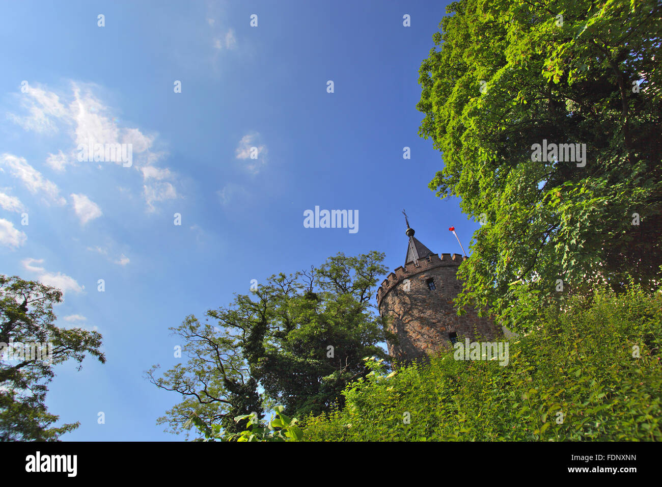 castle rode - Stock Image
