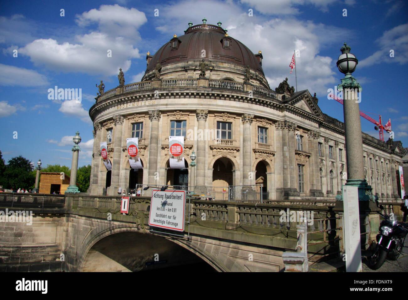 Bode Museum, Berlin-Mitte. - Stock Image