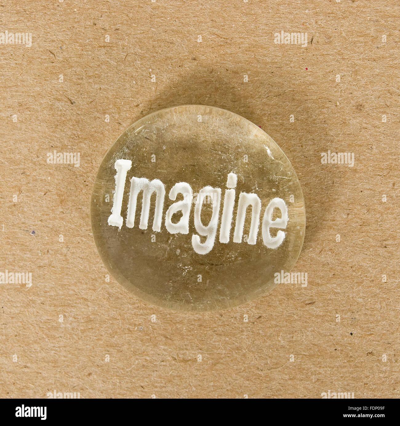 Imagine Stone - Stock Image