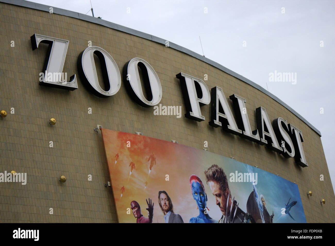 Zoo Palast, Berlin-Charlottenburg. - Stock Image