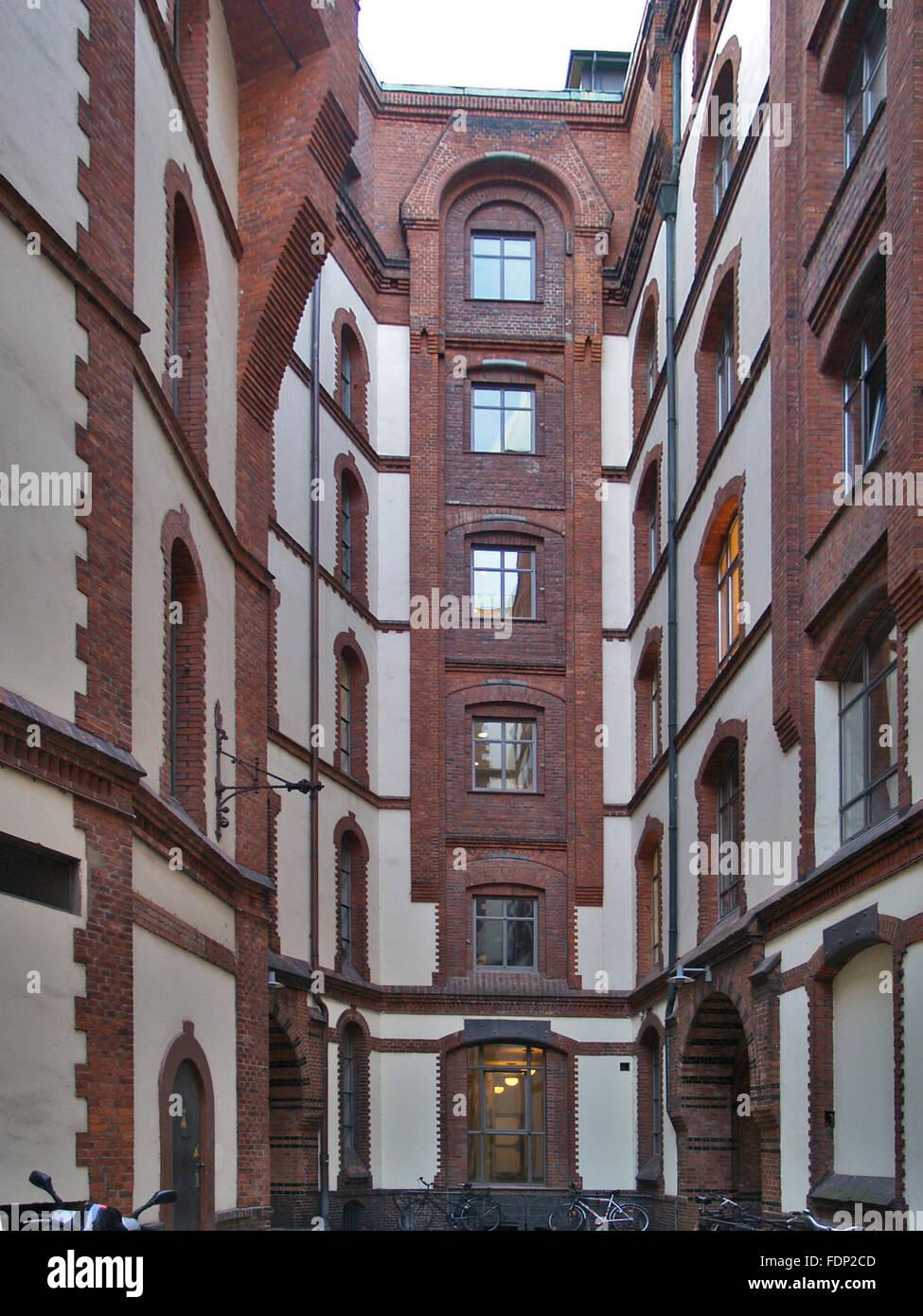 hamburg,speicherstadt,sandthorquaihof Stock Photo