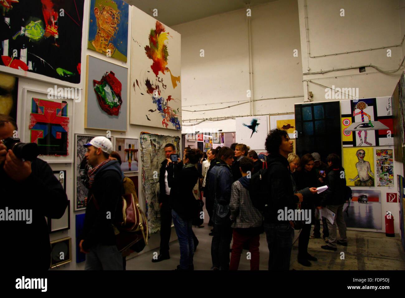 Impressionen Ausstellung Macht Kunst Deutsche Bank Kunsthalle