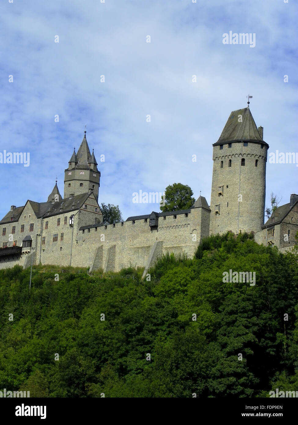 altena castle - Stock Image