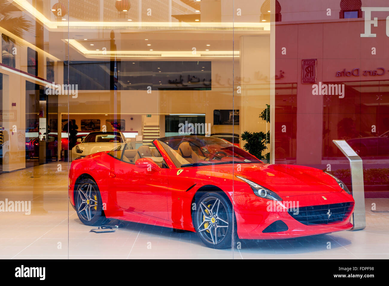 Ferrari Dealership High Resolution Stock Photography And Images Alamy
