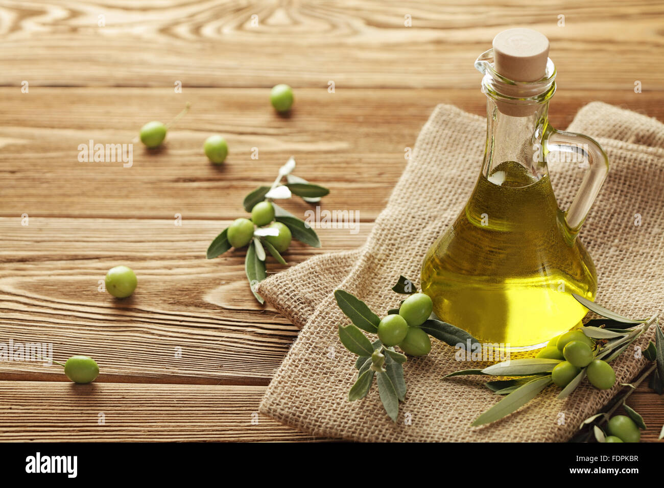 olive oil - Stock Image