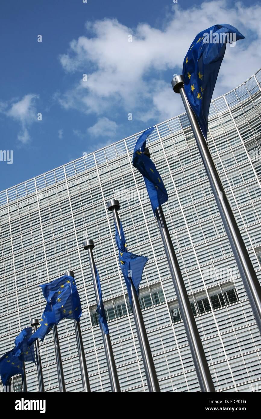 eu,european union flag,european parliament - Stock Image