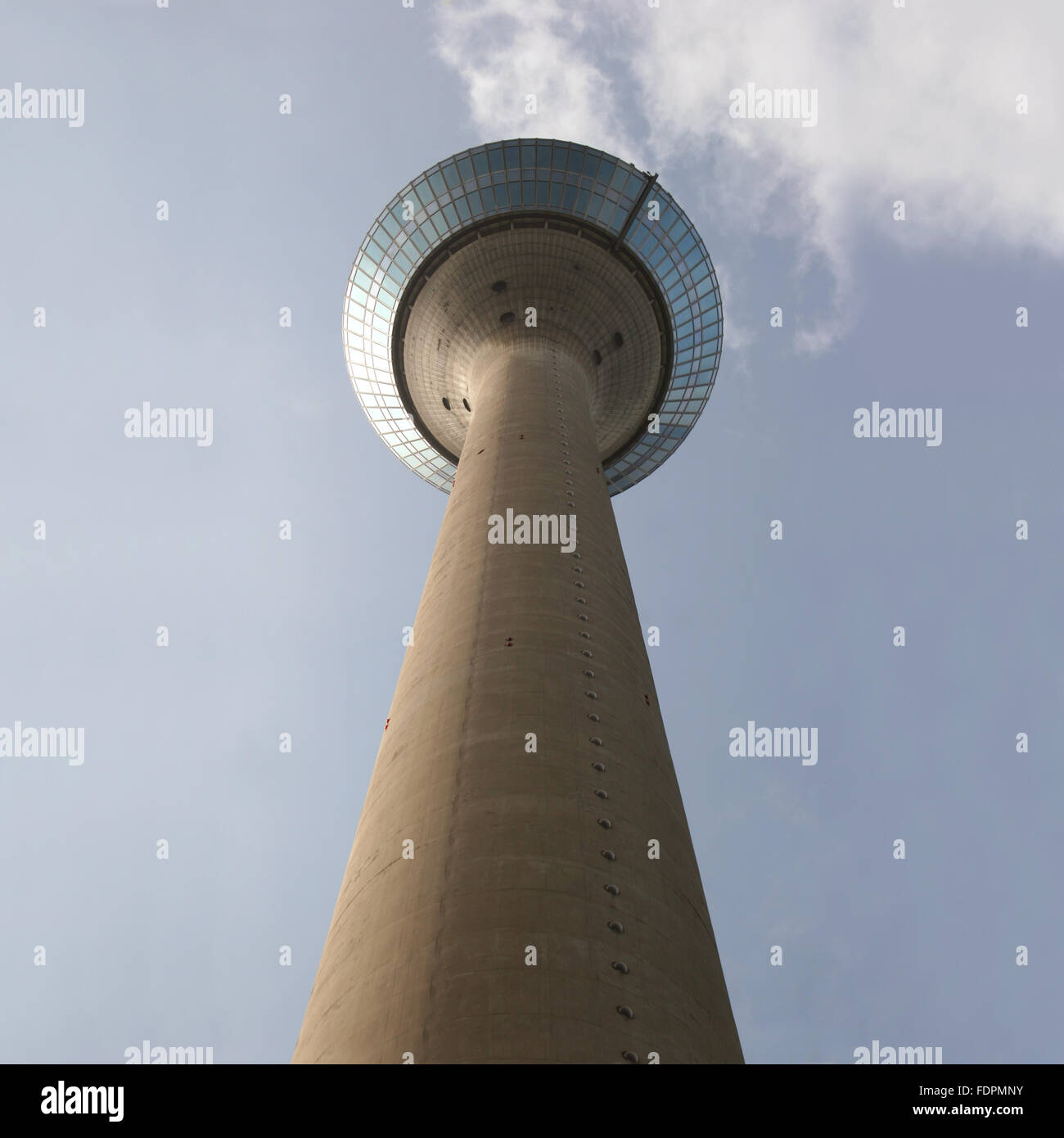 television tower,düsseldorf,rheinturm düsseldorf - Stock Image