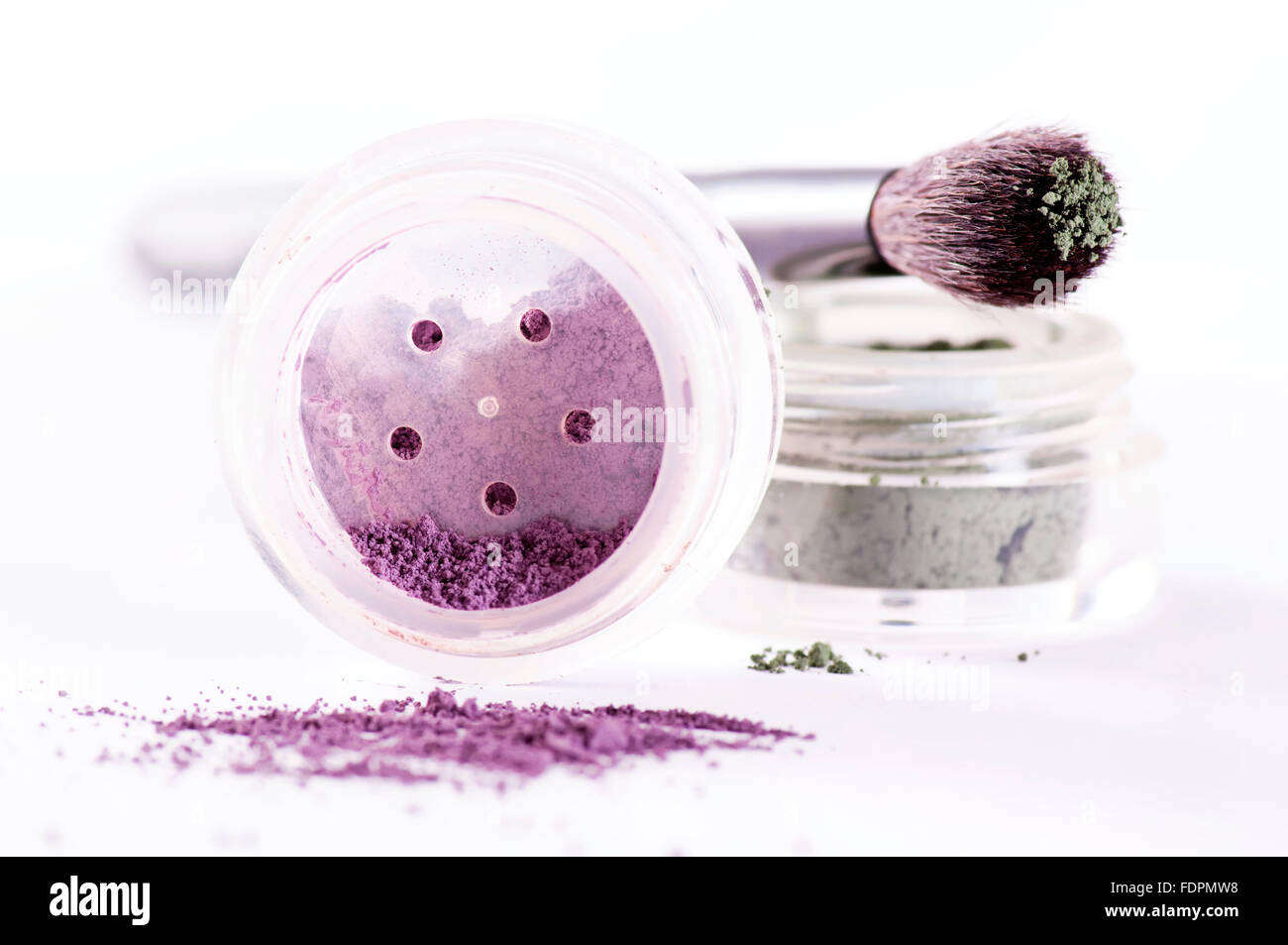 beauty,cosmetics,pigment - Stock Image