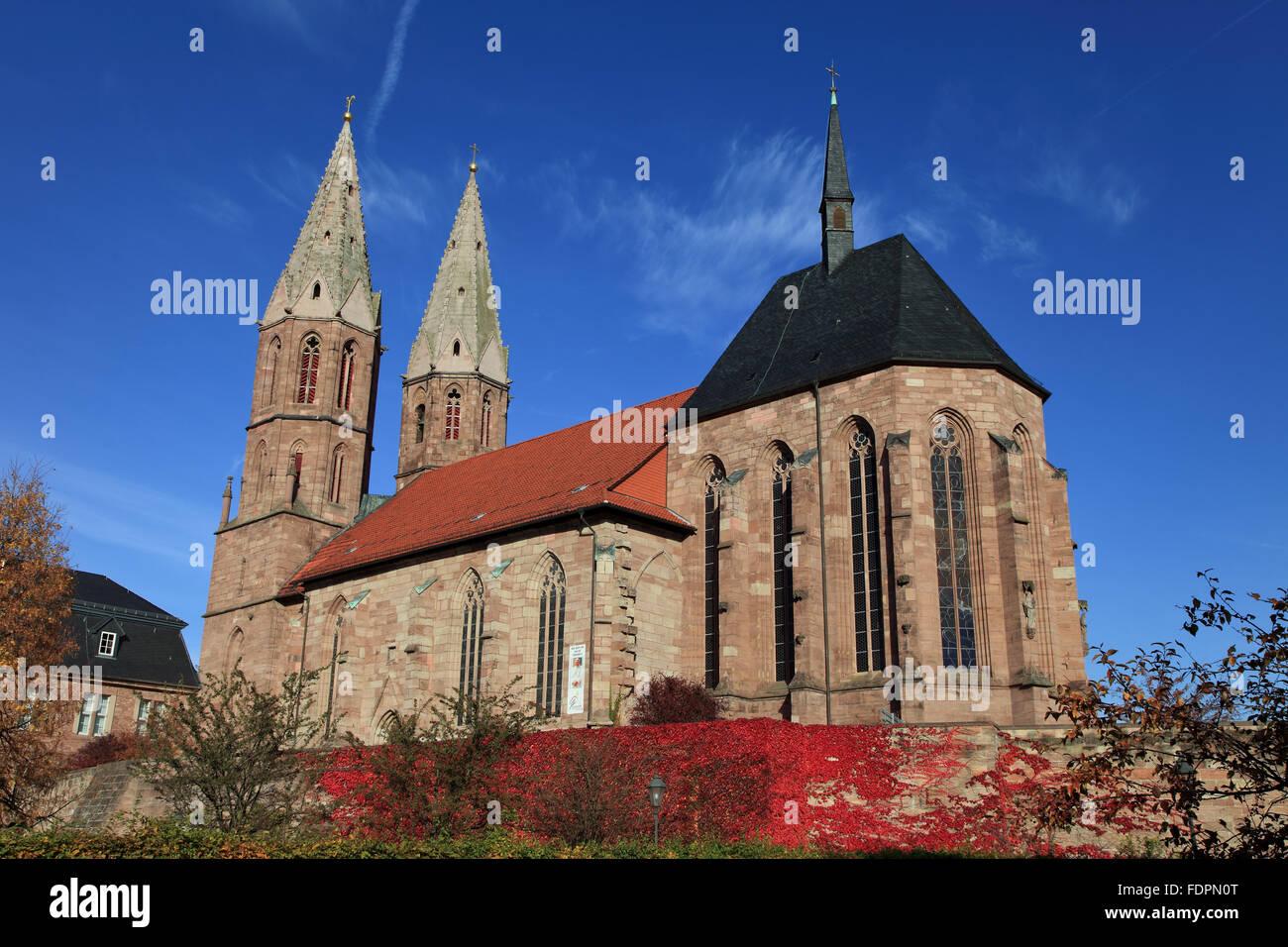 church,st. marien,eichsfeld - Stock Image