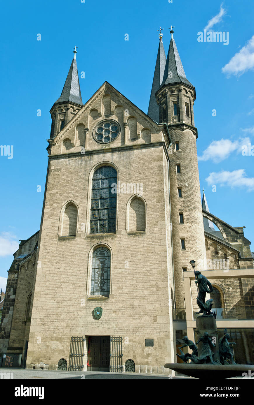 church,bonn,saint martin - Stock Image