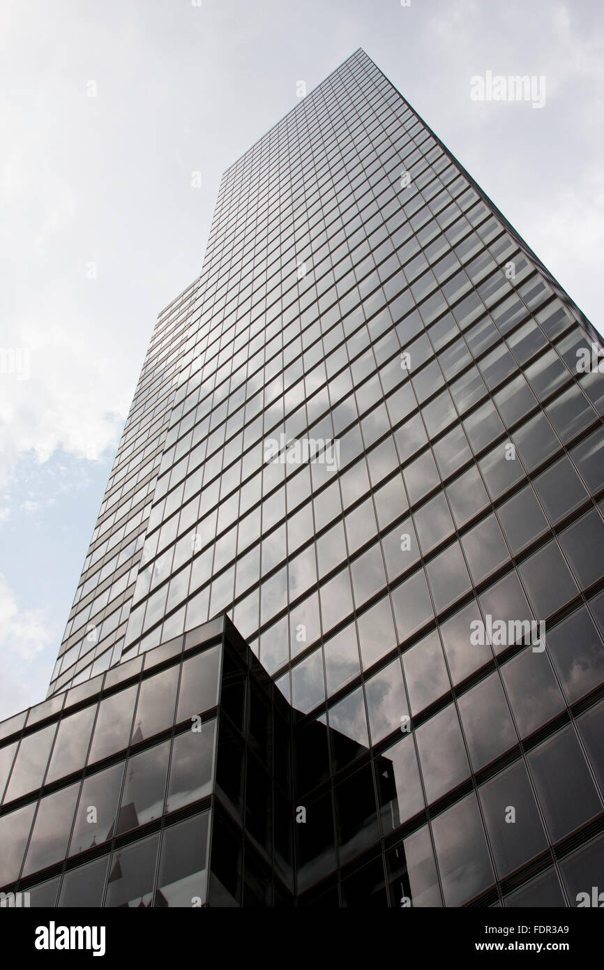 office building,skyscraper,cologne tower - Stock Image