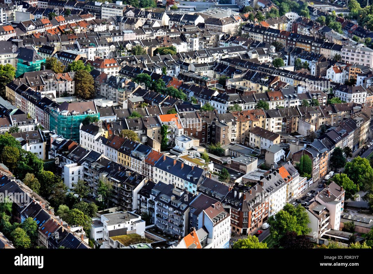 düsseldorf,residential area - Stock Image