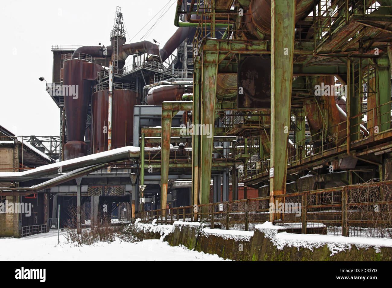 industry,steelworks - Stock Image