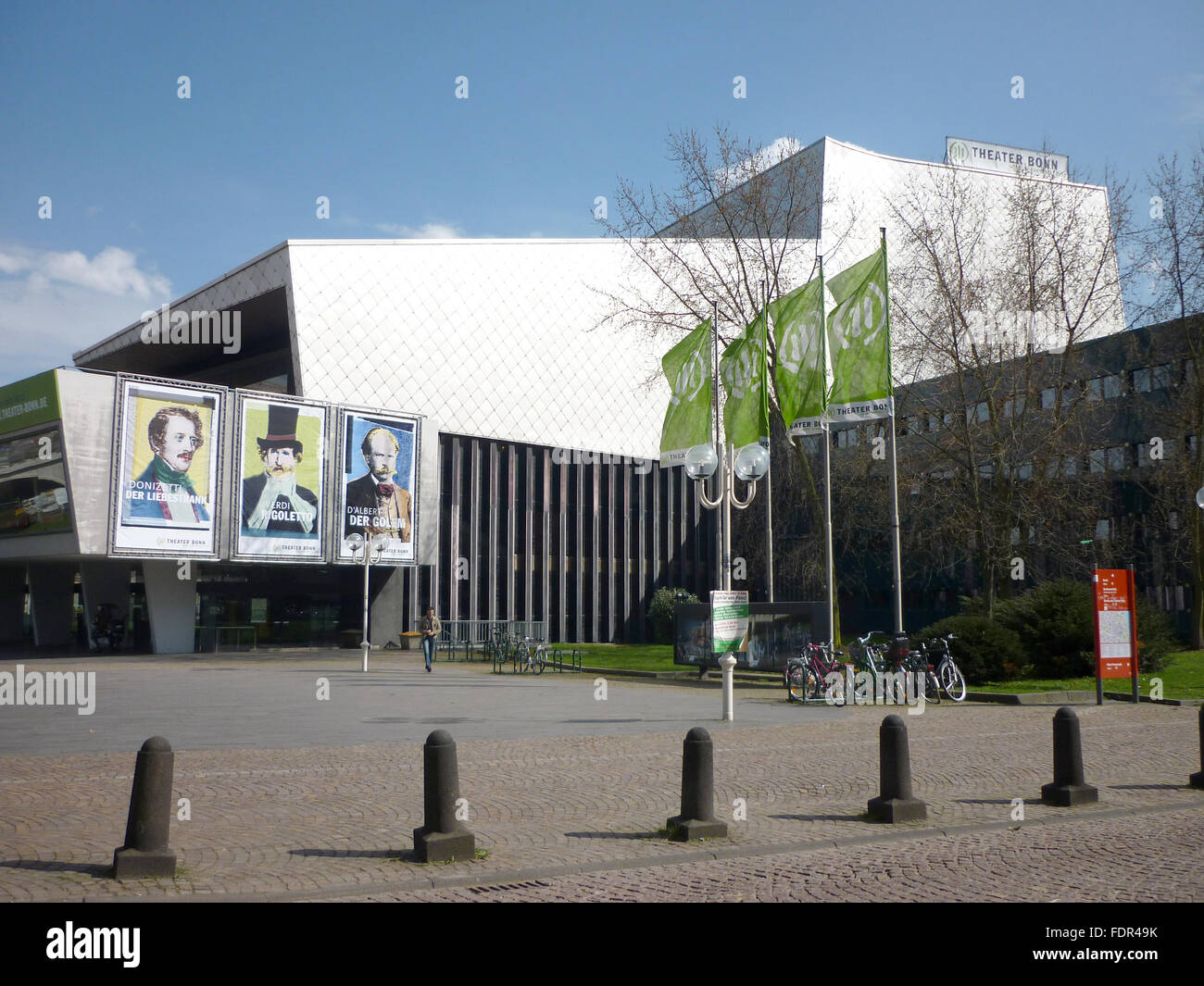 theater,opera,bonn - Stock Image