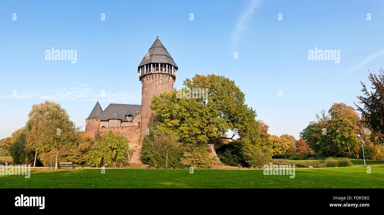 castle linn,krefeld - Stock Image