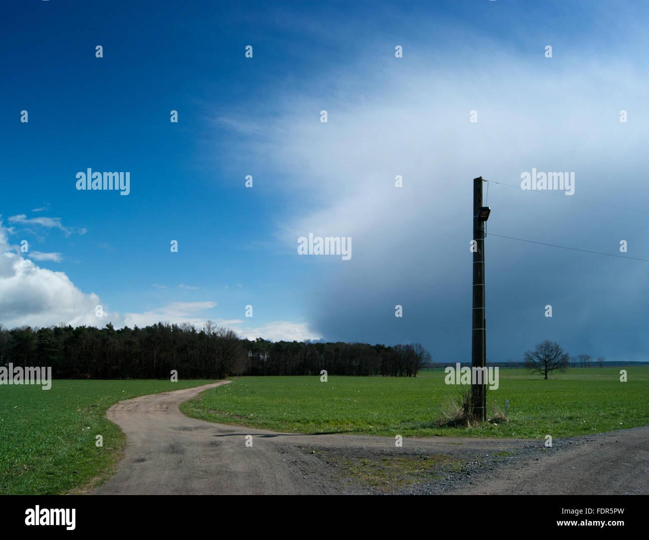 landscape,flaeming - Stock Image