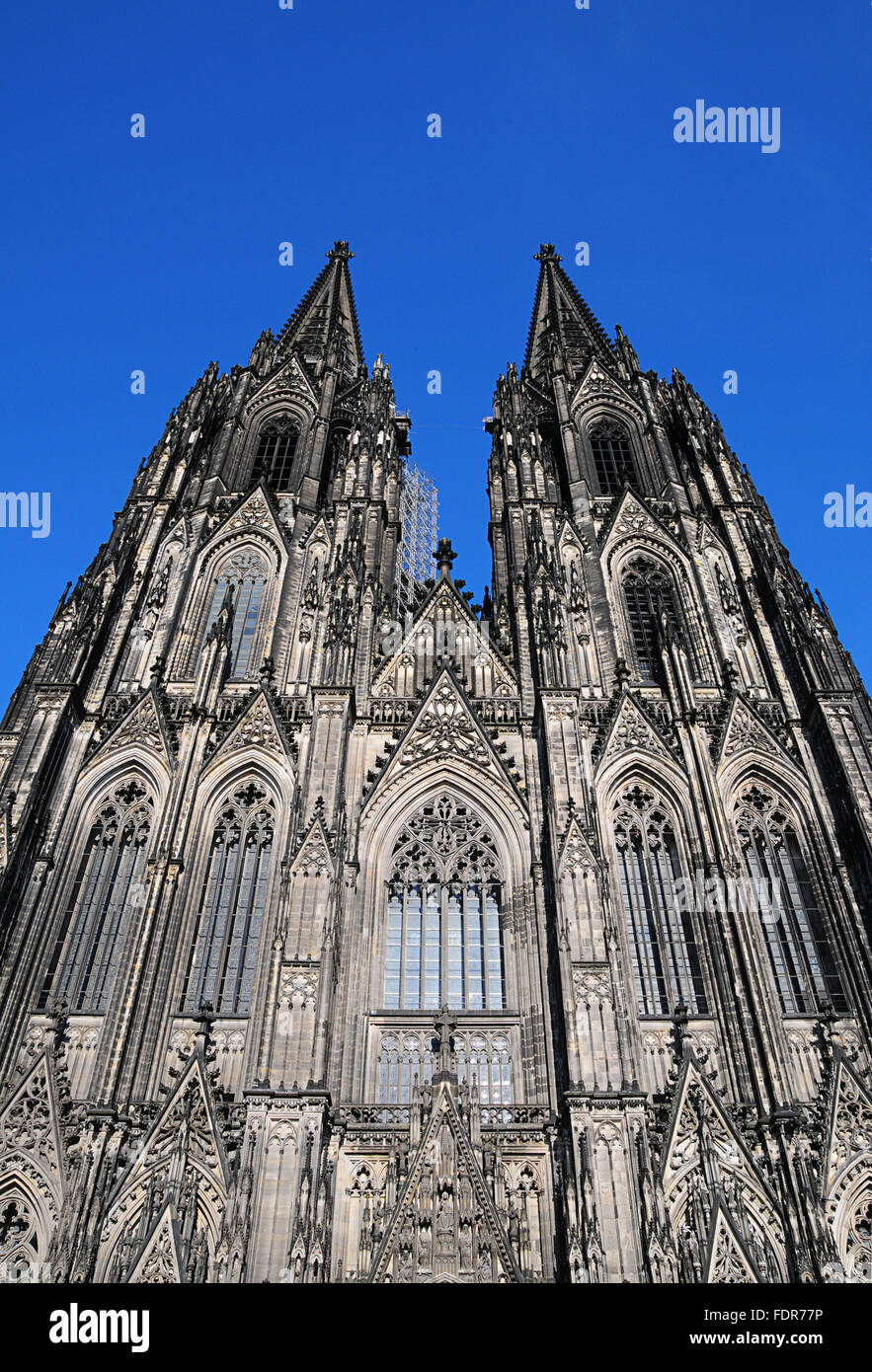 church,dom,cologne cathedral - Stock Image