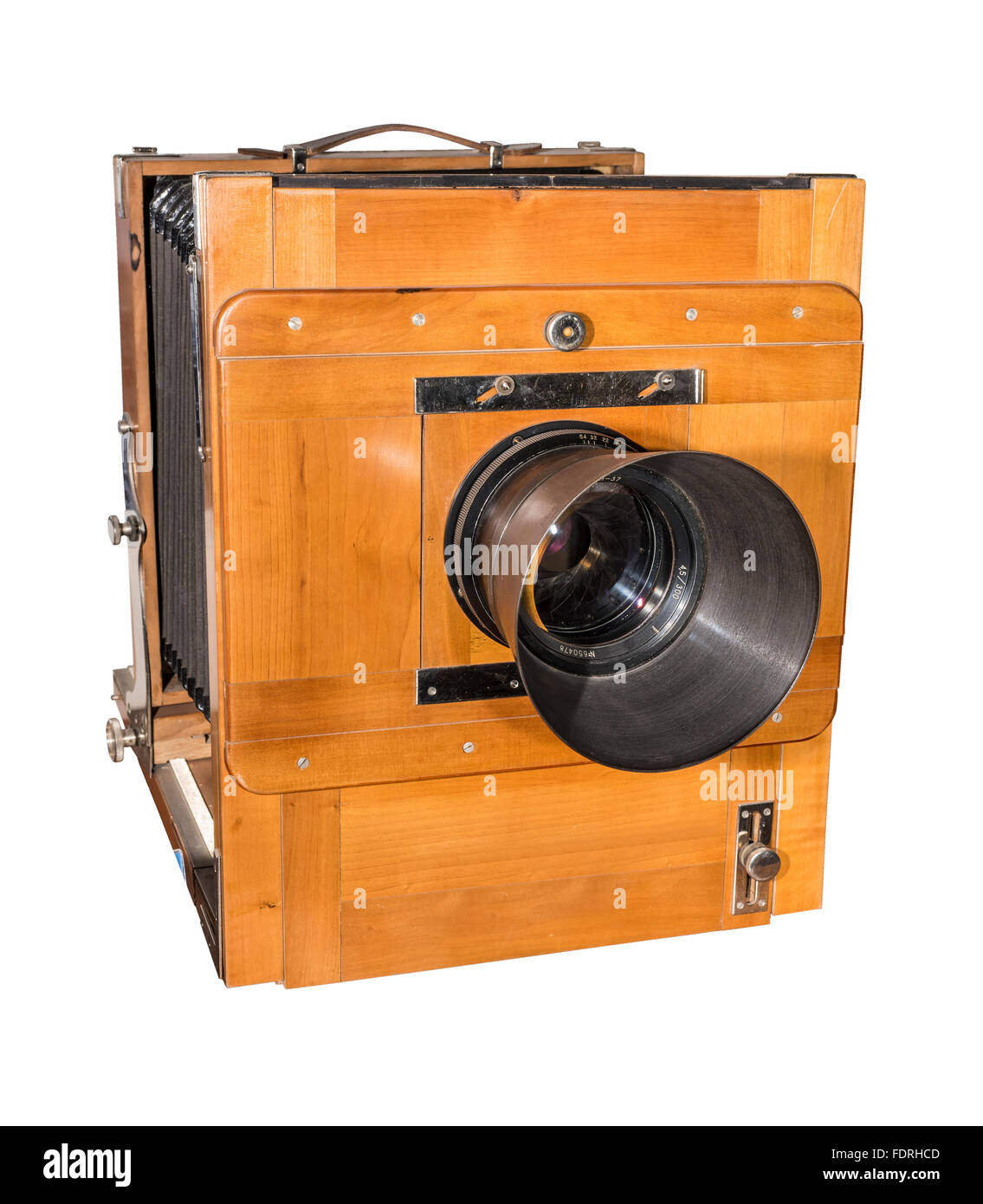 Photo camera an old, wooden, frame size 18 x 24 cm. Production year ...