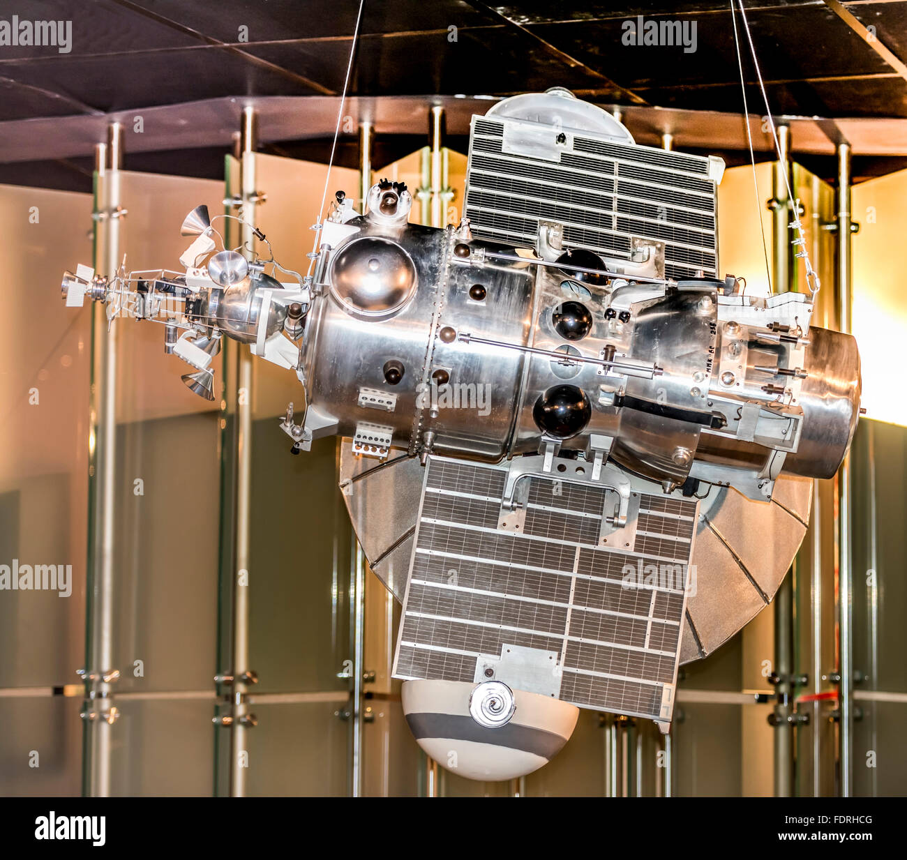MOSCOW; RUSSIA- OCTOBER 06- Automatic interplanetary station 'Mars-1' .First spacecraft directed towards - Stock Image