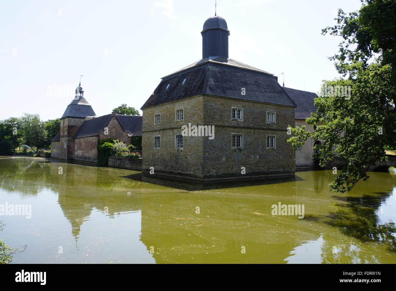 Castle Westerwinkel - Stock Image