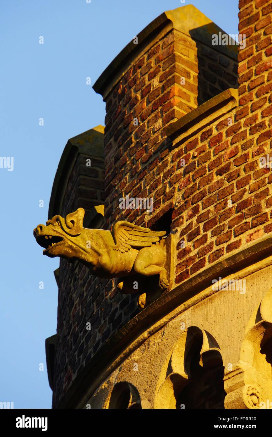 gargoyle - Stock Image