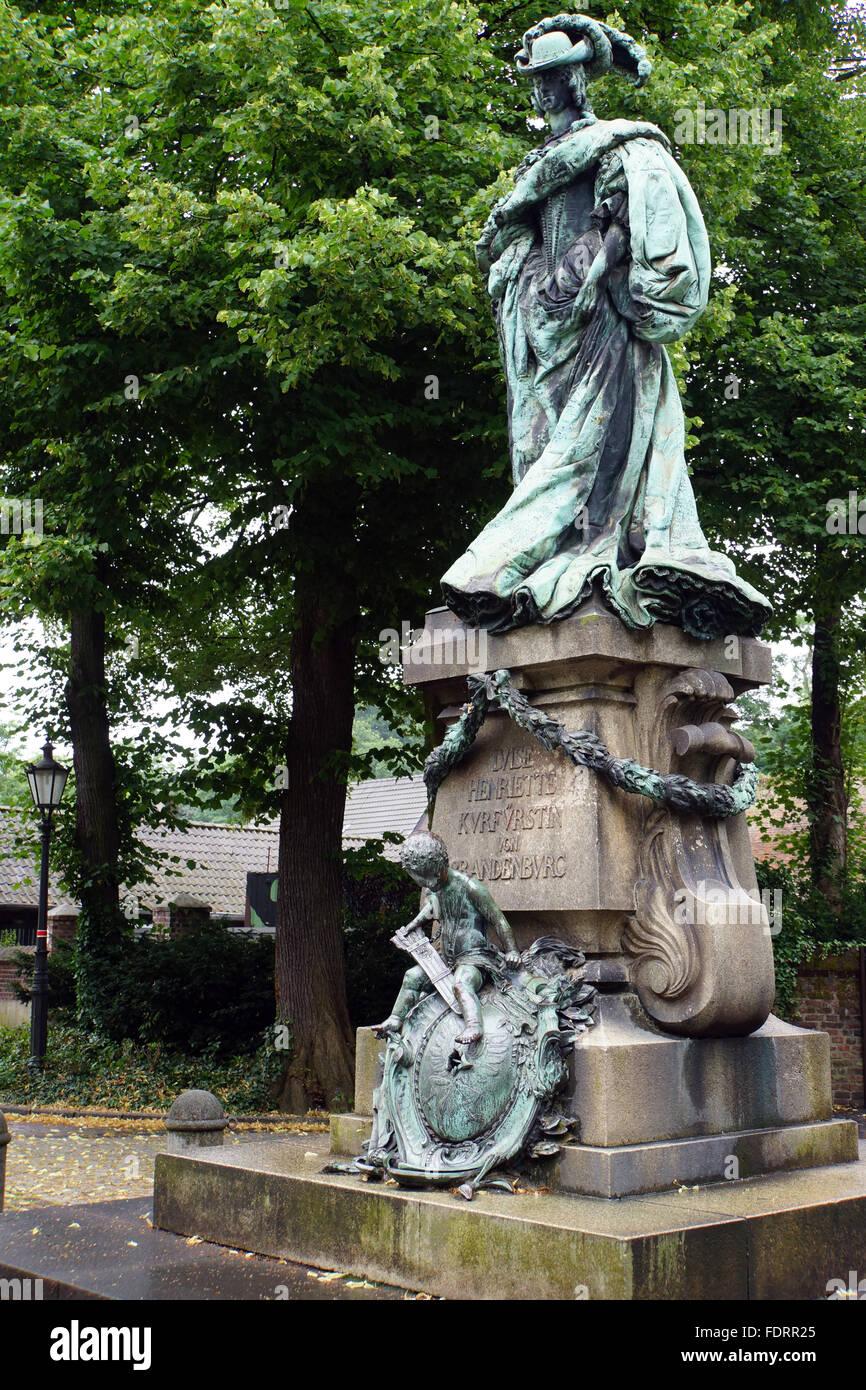 memorial,luise henriette von oranien - Stock Image