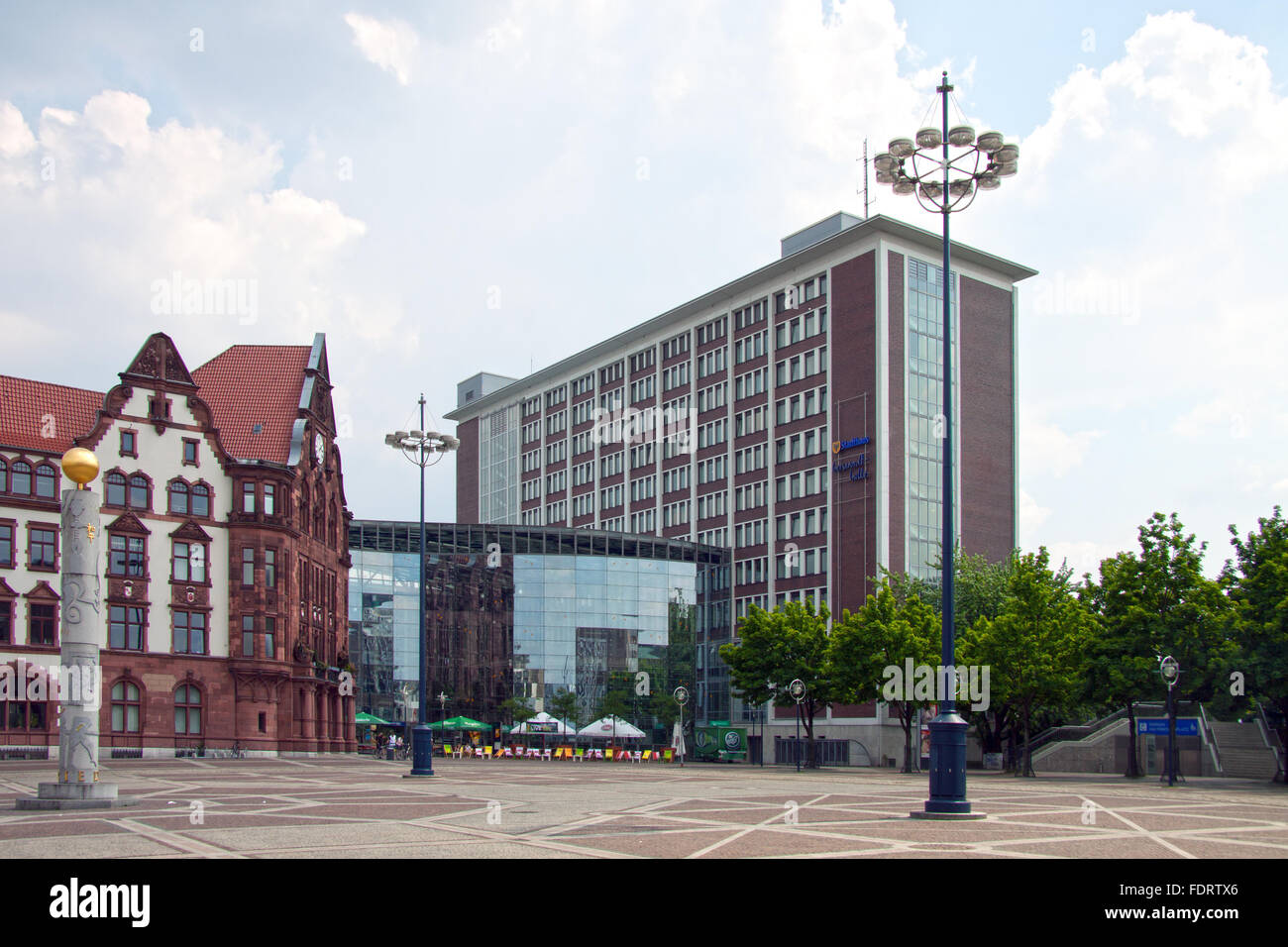 town hall,dortmund,peace place,berswordt hall - Stock Image