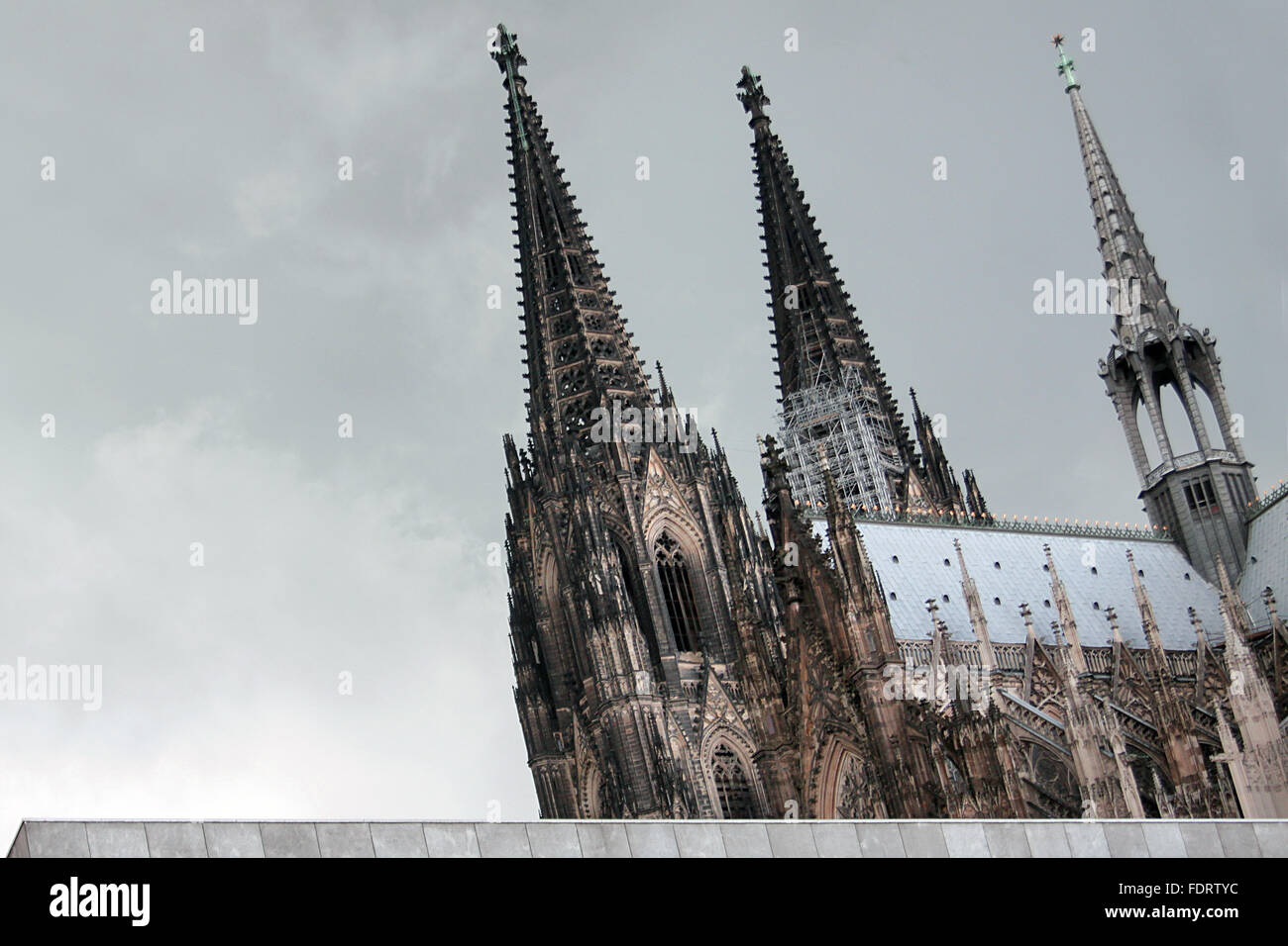 cologne,cologne cathedral,cathedral - Stock Image