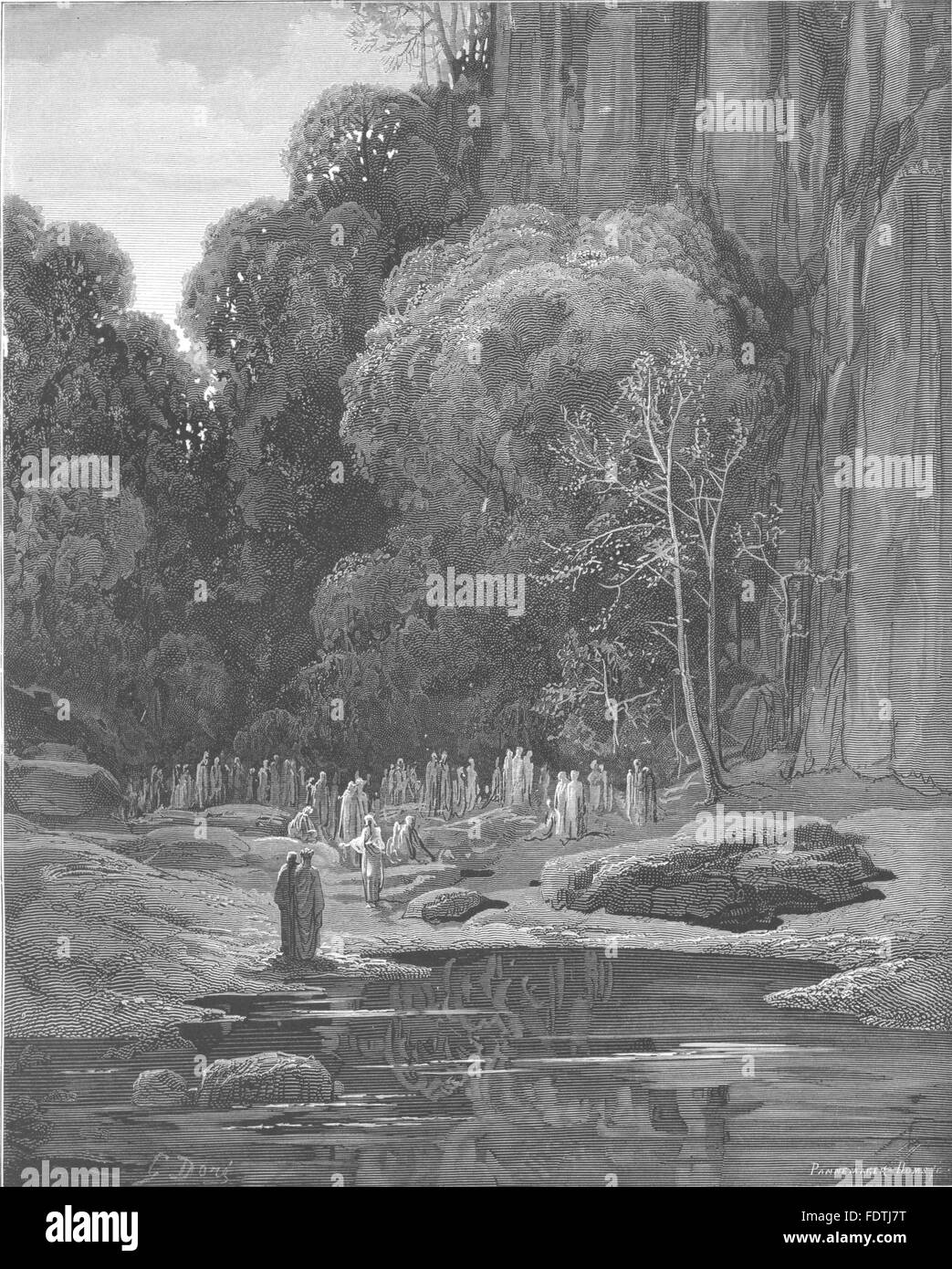 DANTE:Exclaim'd Bard,Throng around us;petition thee,they come Go therefore, 1893 - Stock Image