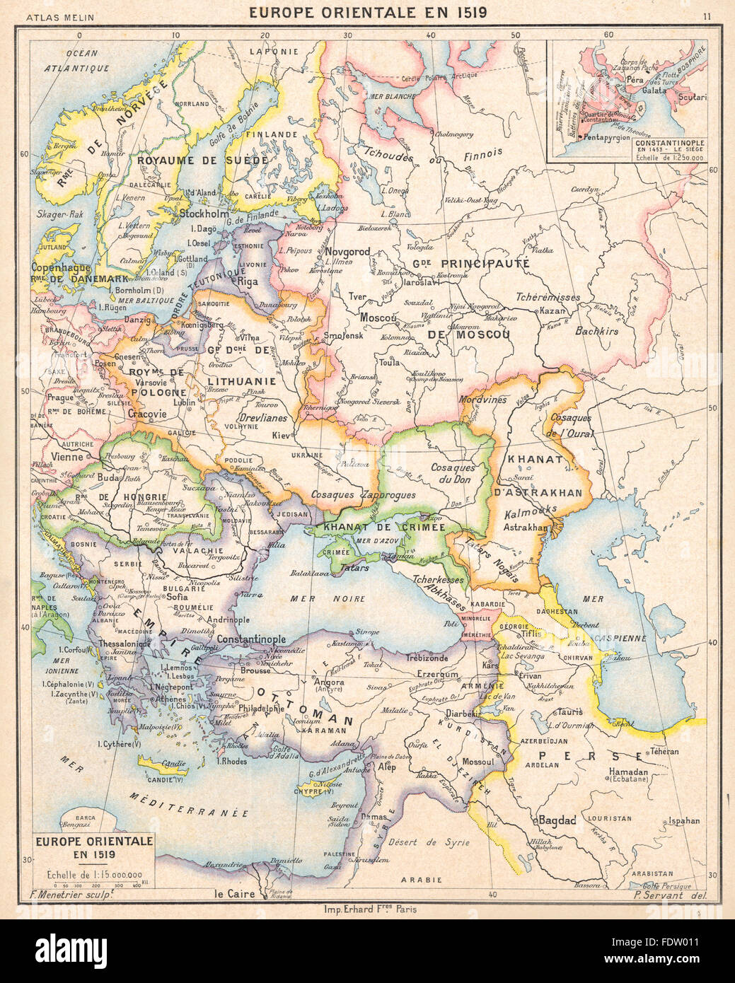 Constantinople Map Stock Photos Constantinople Map Stock Images