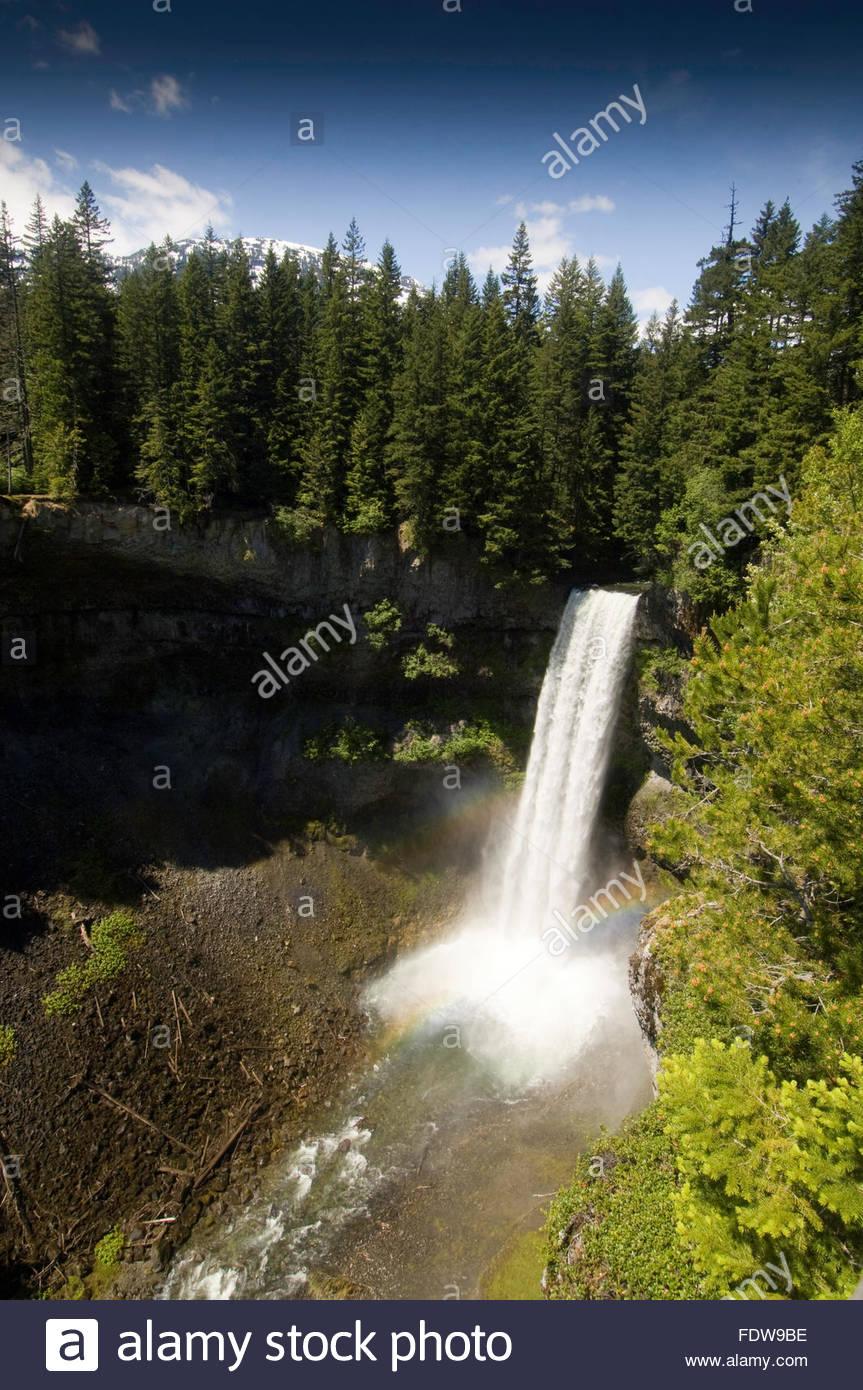 Brandywine falls Squamish, BC, Canada - Stock Image